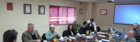Sesión de Directorio en Concepción