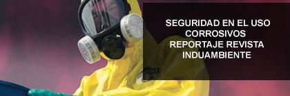 Seguridad en el uso de corrosivos