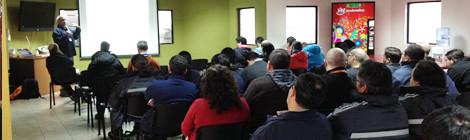 Capacitación de Empresas Cloramon en Sociedad Eléctrica Santiago
