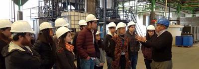 Visita de estudiantes a las instalaciones de Empresas Cloramon