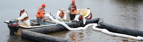 ENAP y pescadores artesanales de Concón realizan simulacro de emergencia en Río Aconcagua