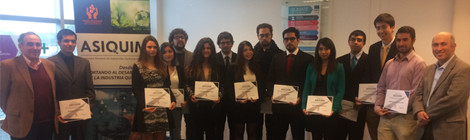 ASIQUIM Regional Sur  distingue a alumnos de UDEC