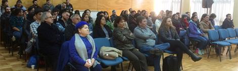 ASIQUIM realiza charla en Universidad del BÍO BÍO
