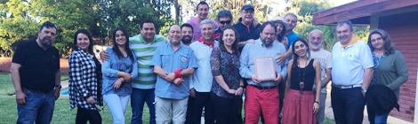 Socios de Asiquim regional sur celebran en paseo de fin de año