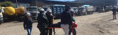 3 empresas de Asiquim realizan simulacro conjunto en Talcahuano
