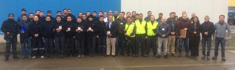 Eka Chile premia a Empresas contratistas que cumplen 5 años sin accidentes reportables