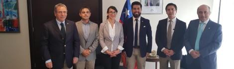 ASIQUIM se reunió con autoridades de la Región de Antofagasta