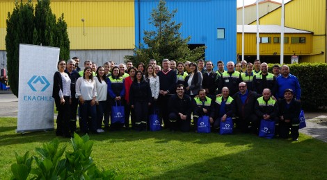 EKA Chile celebra tres años sin accidentes