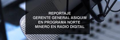 Entrevista Gerente General ASIQUIM A.G. en programa radial.