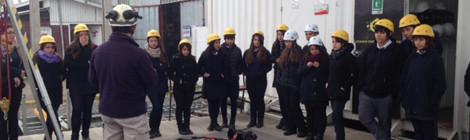 Visita Liceo Domingo Matte Pérez a instalaciones de Capacitación TOK