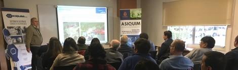 SOCIOS  DE ASIQUIM REGIONAL SUR COMPARTEN EXPERIENCIAS EN TALLER DE LECCIONES APRENDIDAS