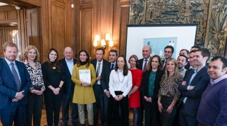 Séché en Chile junto a la Ministra del Medio Ambiente